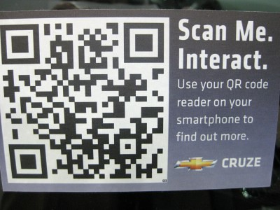 QR codes used by Chevrolet at SXSWi | Sheila Scarborough | Flickr