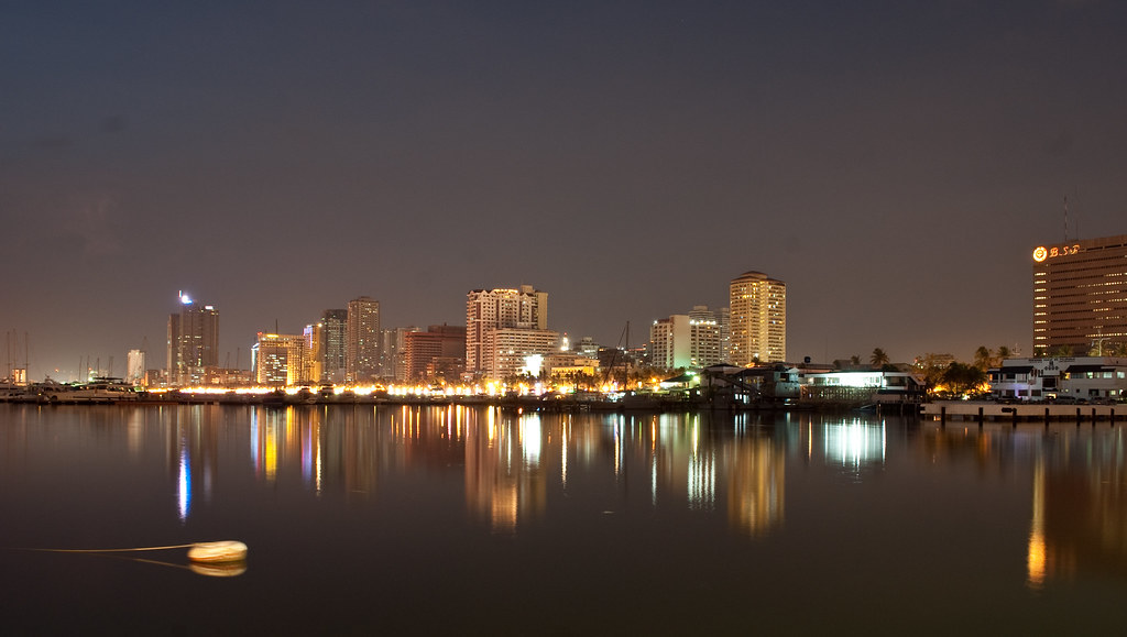 Manila Panorama | Harbour Square This work is licensed ...