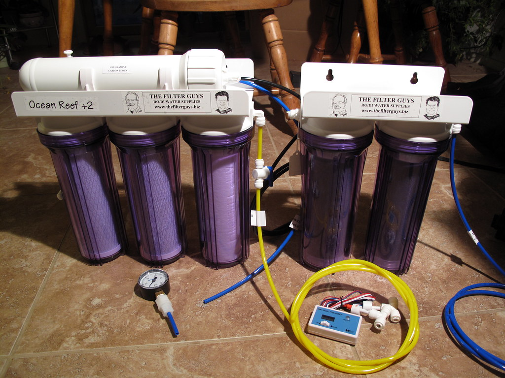 Reverse Osmosis \/ De-Ionization water filter | Stage One 5 ...