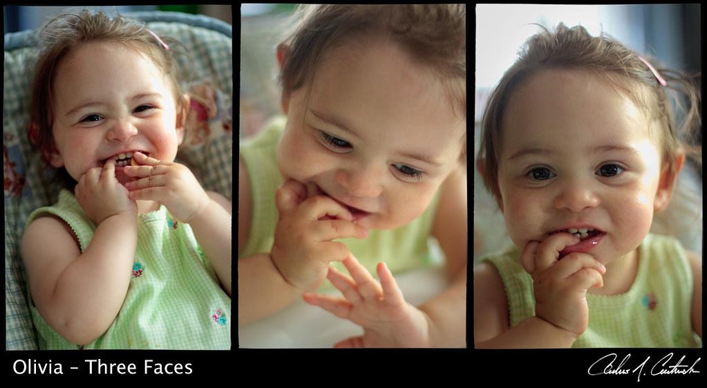 Olivia – Three Faces by andrewjc7579