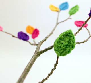 Crocheted Leaves | by Easymakesmehappy