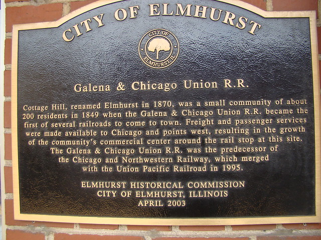 Short history of Elmhurst Ill.