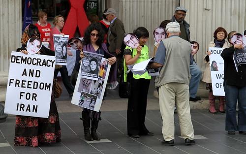 Democracy & Freedom for Iran!   by Anima Fotografie