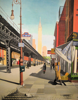 Third Avenue - 1934 New Deal Painting at Smithsonian American Art Museum