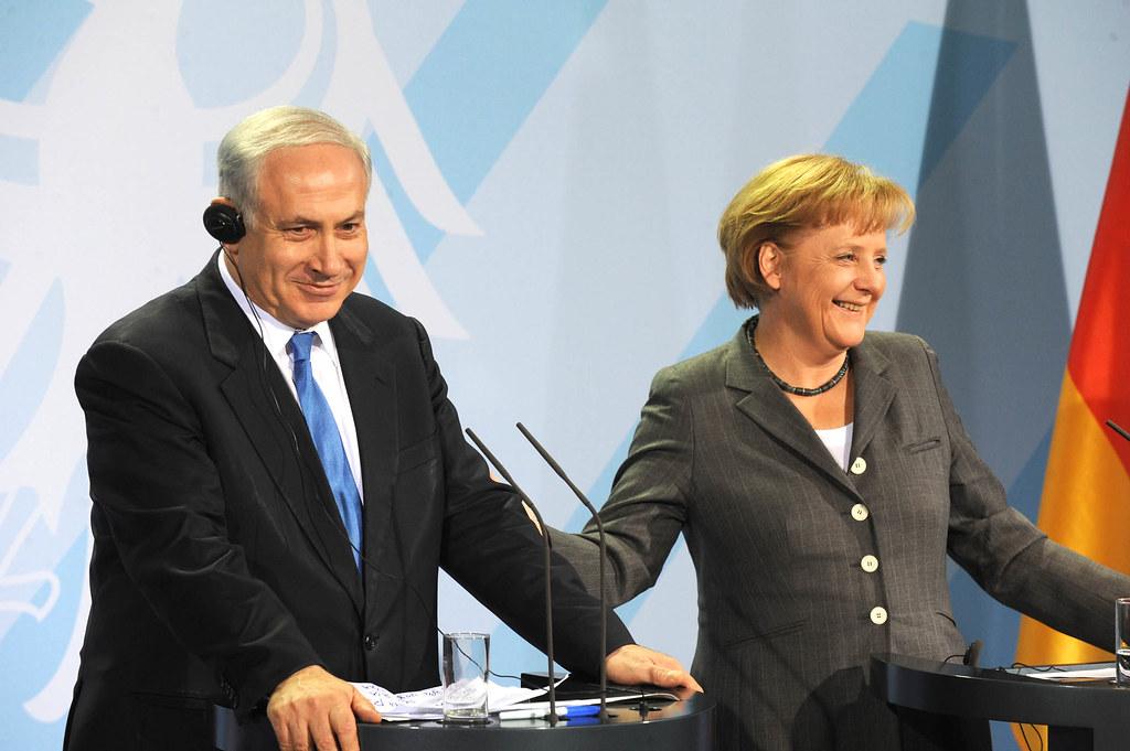 Netanyahu-Merkel Press Conference 18Jan10