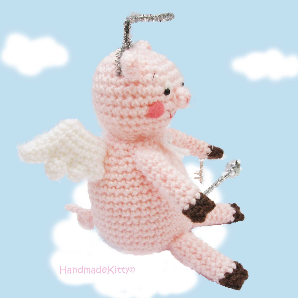 Es un Mundo Amigurumi: Patrón Angel... | 1024x1024