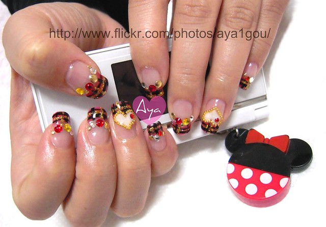 Valentine nails | my client remove old gel and art off base … | Flickr