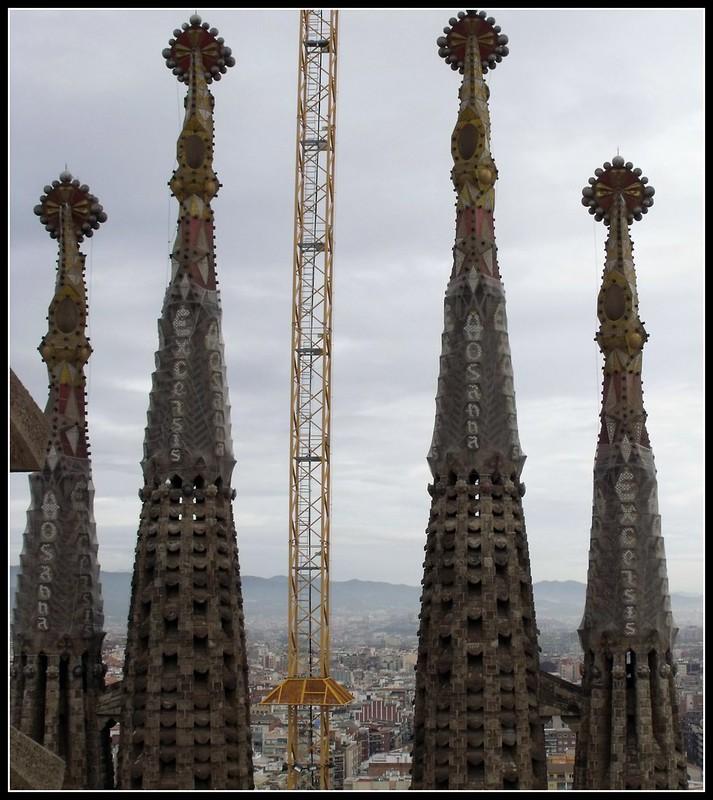 El Temple Expiatori de la Sagrada Família.