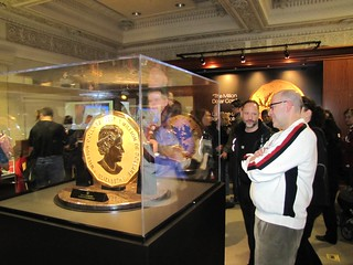 The Million Dollar Coin at the Royal Canadian Mint exhibit | by US Embassy Canada