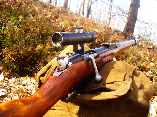 Mosin Nagant M91/30 PU sniper rifle - Soviet Red Army WWII