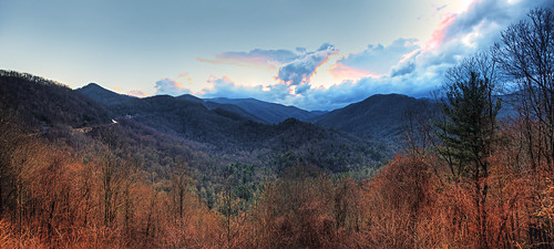 sunset sky clouds nationalpark nikon tennessee parks northcarolina storms stitched hdr stormclouds autostitched cherohalaskyway nantahalanationalforest joycekilmermemorialforest scenicbyway cherokeenationalforest d90 photomatix nationalscenicbyway thegreatsmokymountainsnationalpark theblueridgemountains unicoimountains photoshopcs4 theappalachianmountains autopanogiga