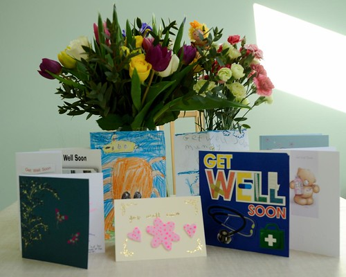 Flowers and cards | by akrabat