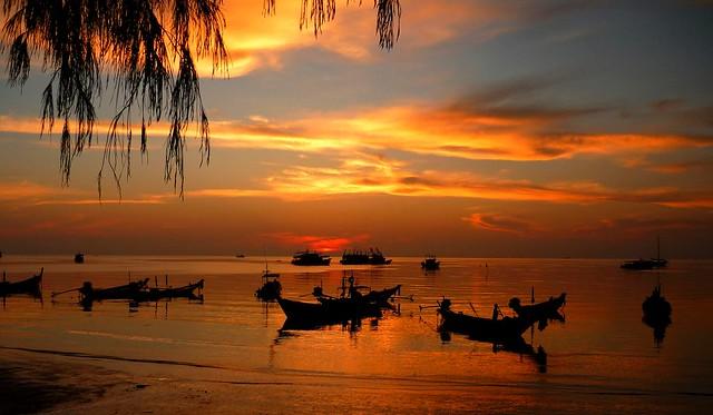 Saree Beach, Koh Tao, Thailand