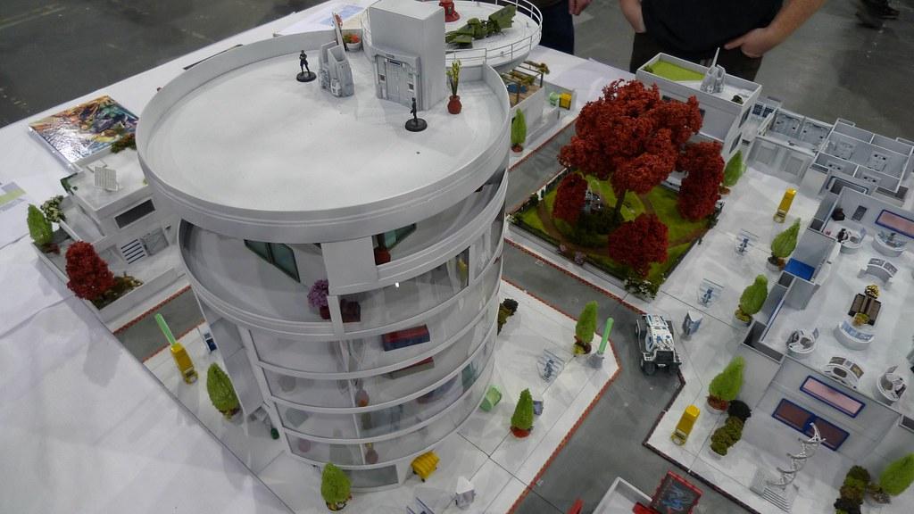 Antenociti's Workshop - Sci Fi Wargame Terrain | At Salute 2… | Flickr