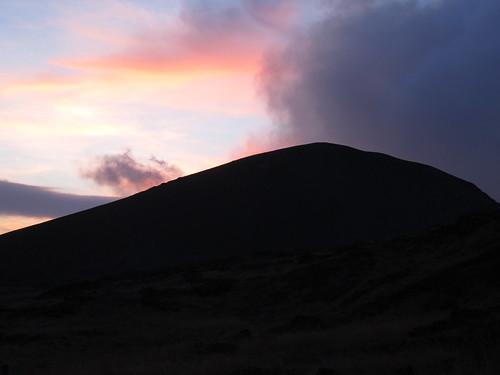 sunset volcano guatemala masaya