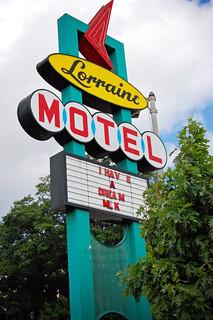 Lorraine Motel   by Jamiesrabbits