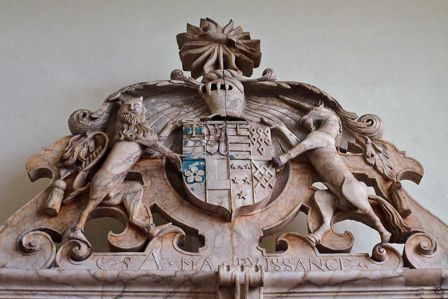 henry and anne grey tomb coat of arms