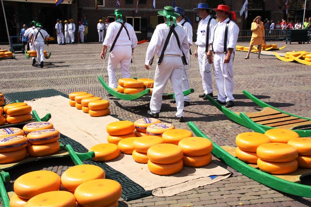 El Mercado De Quesos De Alkmaar Javier Lastras Flickr