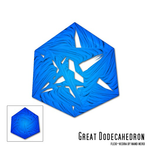 Great Dodecahedron | by nandnerd