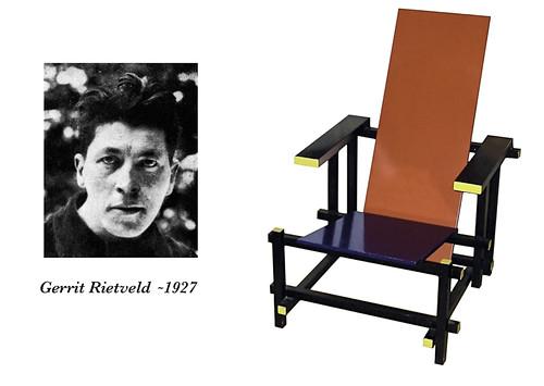Gerrit Rietveld & His Chair