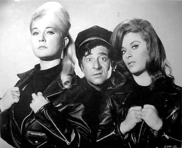 Alberta Nelson (1937 – 2006), Harvey Lembeck (1923 – 1982) and Linda Rogers (1941 – where is she now?)