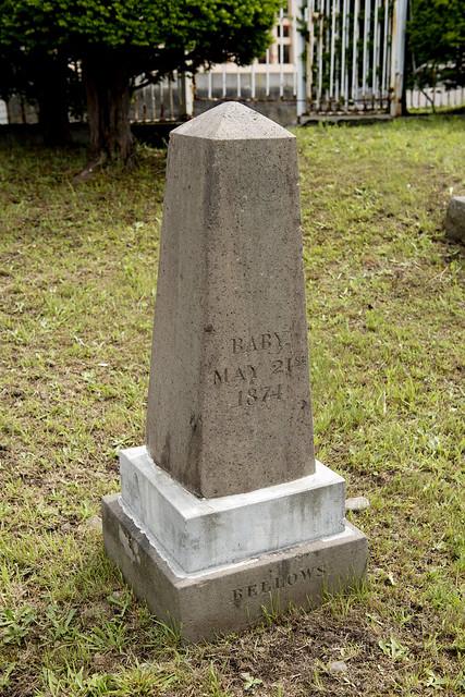 函館外国人墓地  11 Beatrice Bellows 1874-1874