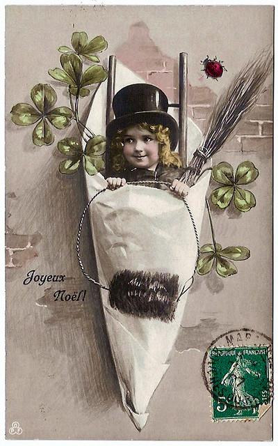 Vintage Postcards - Joyeux Noel - 01