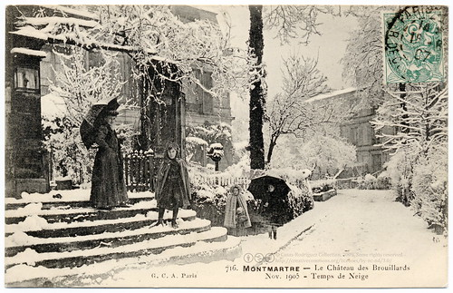 A Happy New Year from the Château des Brouillards (1905) | by postaletrice