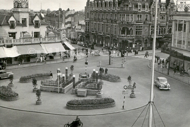 Victoria Circus, Southend-on-Sea - 1958