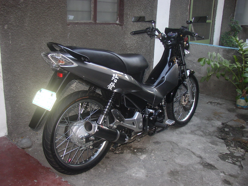 Honda xrm rs 125 set up rear by paragontarlac