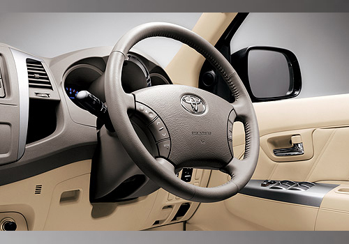 Toyota Fortuner Steering Wheel Interior Photo | Toyota Fortu
