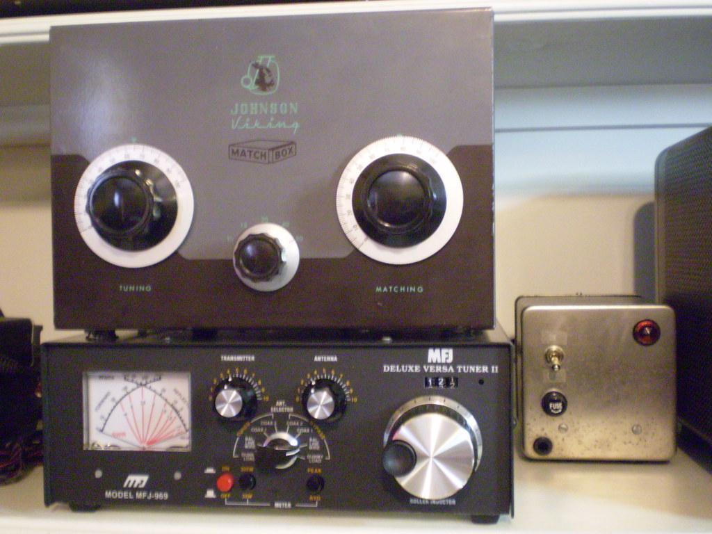 EF Johnson Matchbox and MFJ-969 Antenna Tuner | I use these … | Flickr