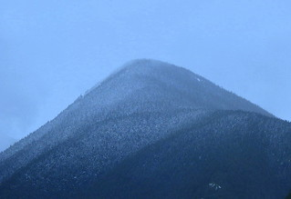 A LIGHT SNOW SHOWS OFF ALL THE HILLS AND VALLEYS....