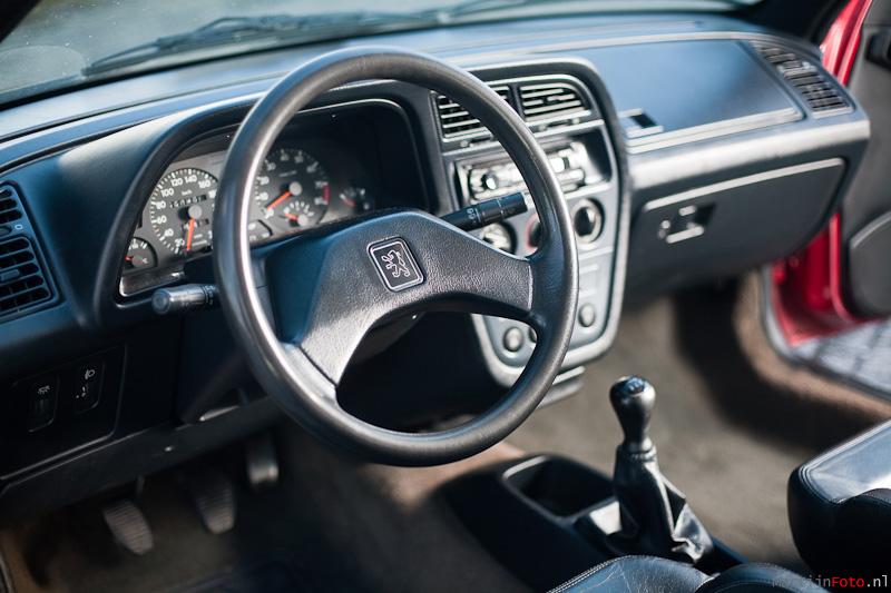 Peugeot 306 S16 Le Mans Interior