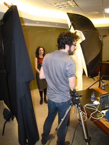 Spring 2010 extras: Behind the scenes at our cover shoot