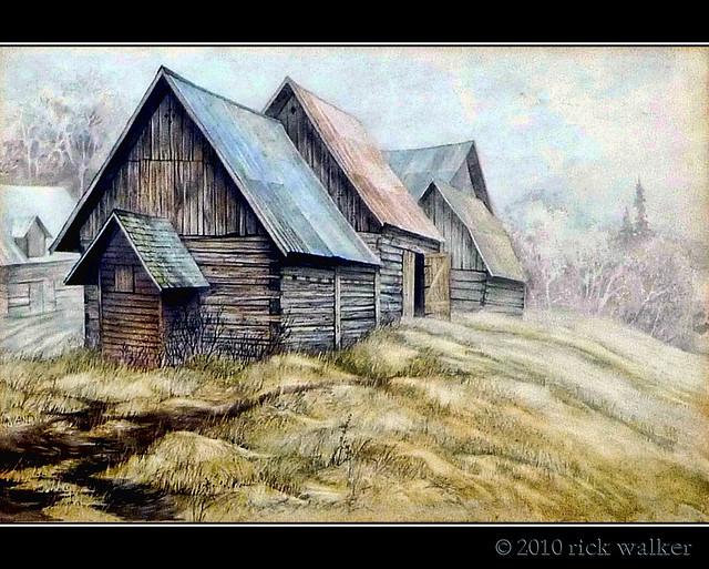 A painting... by my friend Roberta* (Bobbi) Haviland... EXPLORE #19 Woo Hoo !!!