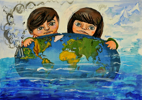 Climate change: Russian art contest   by UNDP in Europe and Central Asia