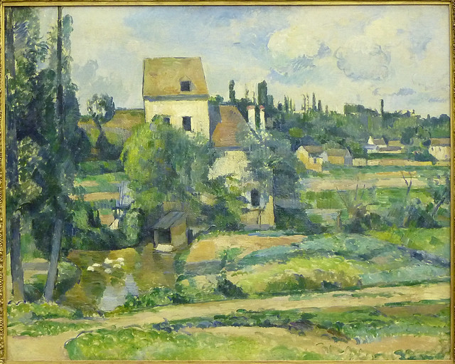 Paul Cézanne: Mill on the Couleuvre at Pontoise (1881)