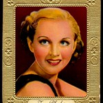 German Cigarette Card - Jane Rhodes