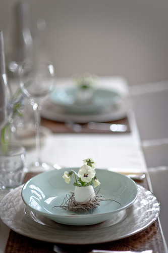 Easter Table | by Les Tissus Colbert