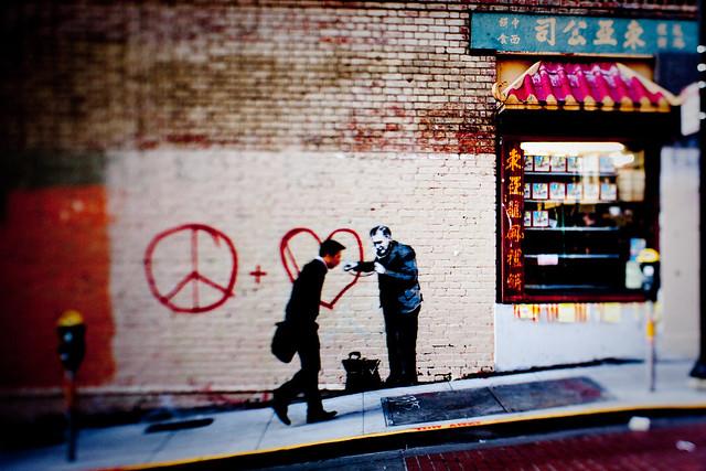 Banksy in SF: sphygmomanometer