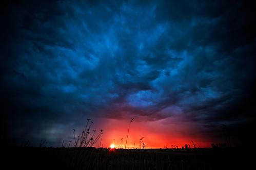 sunset sky storm nature clouds michigan flats 2010 ecc stclairflats