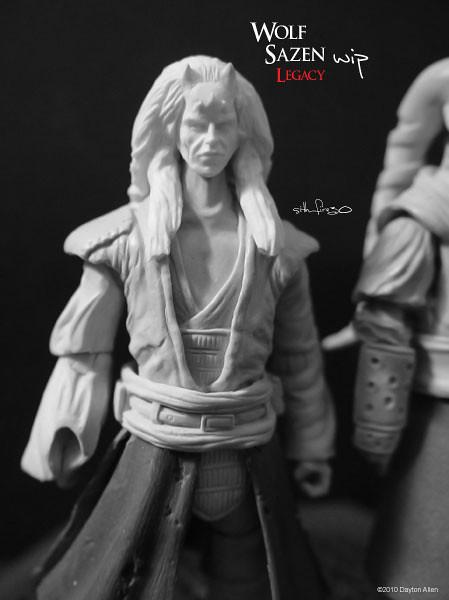 Wolf Sazen - Star Wars Legacy