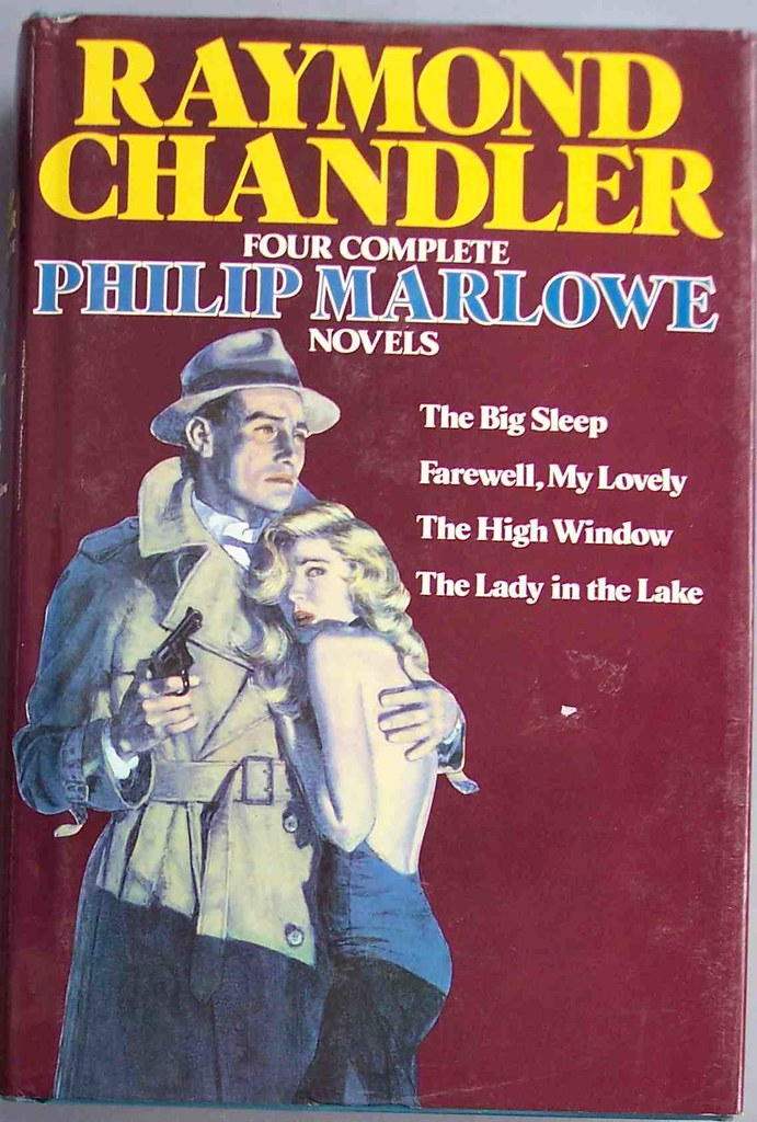 Raymond Chandler created the character Philip Marlowe, later played by Humphrey Bogart in films. Credit: Christo Drummkopf/Flickr