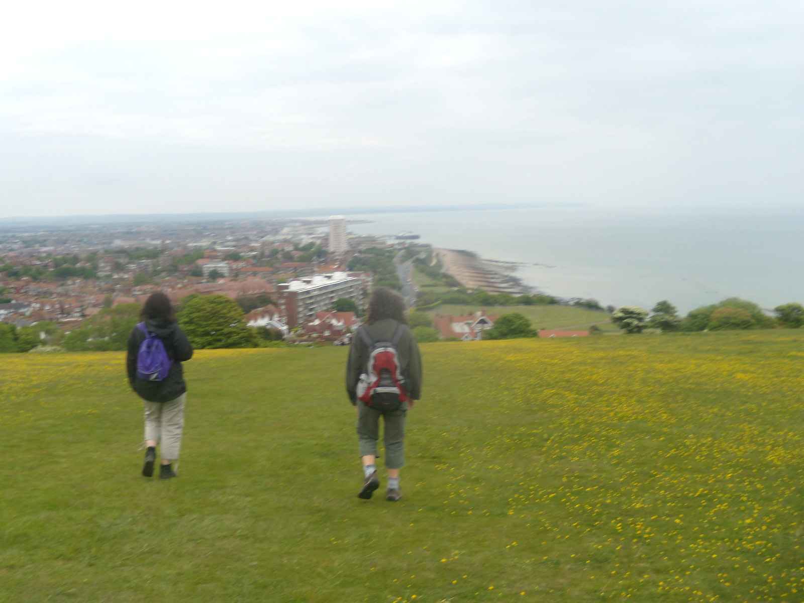 Buttercups over Eastbourne Seaford to Eastbourne