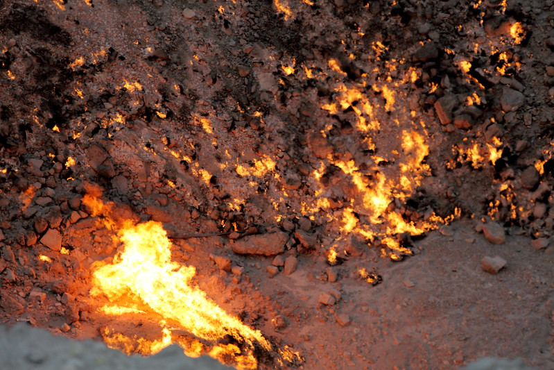 The Door to Hell (in the daytime) / Turkmenistan, Darvaza