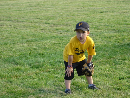Mason's First T-ball game | by rice75