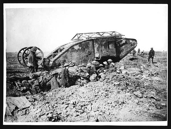 Tanks attack on Thiepval