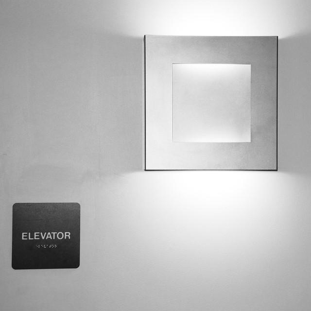 elevator BW
