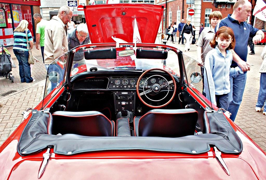 1967 Sunbeam Alpine Series V Interior